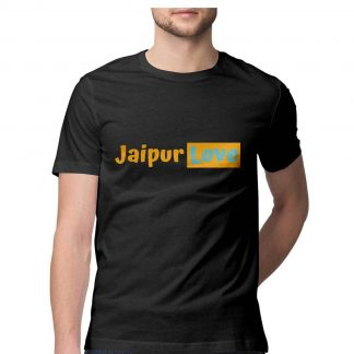 buy-jaipurlove-branded-black-tee-men-10120f