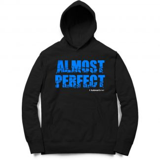 Buy Black Branded Hoodie Almost Perfect