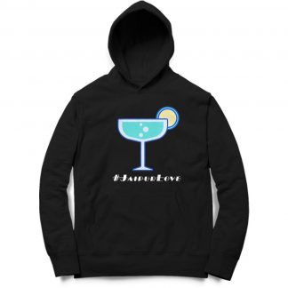 Buy Black Branded Hoodie Party Icon